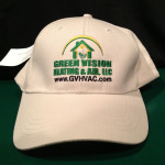 Embroidered Cap for Green Vision Heating & Air