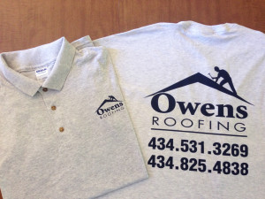 T-Shirt for Owens Roofing