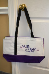 Linear Tote Bag for Vein & Laser Clinic